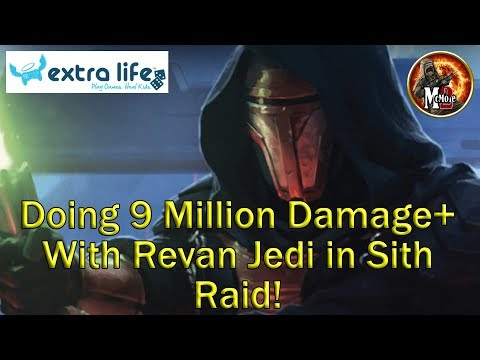 Jedi Revan Destroys the Sith Raid  9 Million+ Damage!