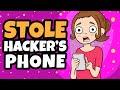 I Stole My Hacker's Phone