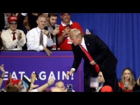 Trump slams Nancy Pelosi during rally in Tennessee