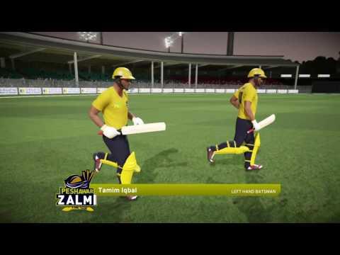Don Bradman Cricket 17   Peshawar Zalmi Vs Islamabad United   Pakistan Super League