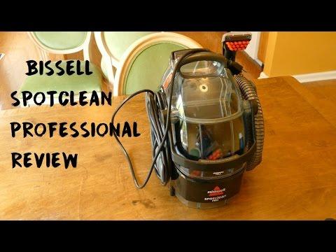 Bissell Big Blue Deep Cleaner Carpet Cleaning Demonstra
