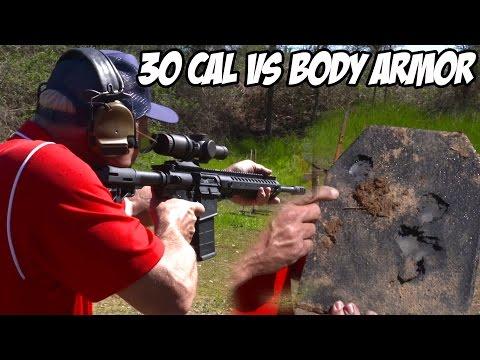 ar-10-30-cal-extreme-rapid-fire-vs.-body-armor!-(super-slowmo)