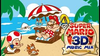 Calm & Relaxing Super Mario 3D Music Mix