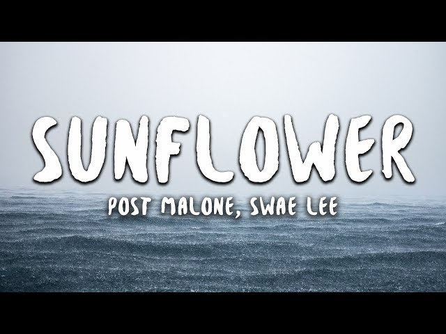 post malone sunflower mp3 free download