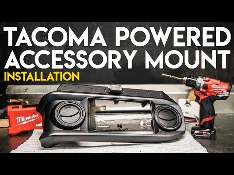Toyota Tacoma Powered Accessory Mount | 3TPAM Install | MOUNT ALL YOUR GADGETS!