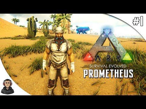 ARK SURVIVAL EVOLVED PROMETHEUS V2 - DE VOLTA PRO MOD #1