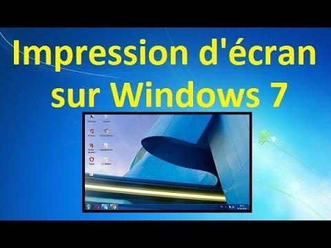 Comment inverser ecran windows 7