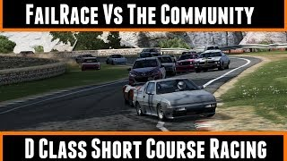FailRace Vs The Community D Class Short Course Racing