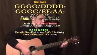 Anna Go To Him (The Beatles) Guitar Lesson Chord Chart