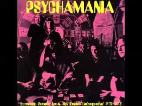 Various ‎– Psychamania : Eccentric Sounds From The British Underground 1970-1973 Acid Psych Rock LP
