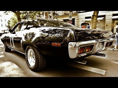 Plymouth GTX 440 LOUD SOUND RoadRunner V8