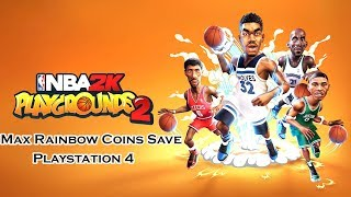[PS4] NBA 2K Playgrounds 2 - Max Rainbow Coins Save - PS4 Save Wizard