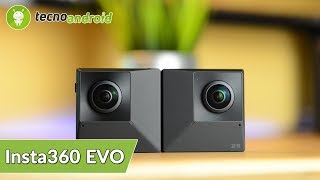 RECENSIONE INSTA360 EVO | 180° 3D , 360° e anche FOLDABLE!