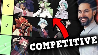 Ranking EVERY Pokemon Champions by how good they are at Competitive Pokemon?!
