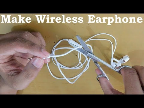 How To Make Wireless Earphone At Home Fail Science Experiment