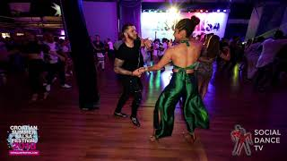 Ernesto & Desiree - Salsa social dancing | Croatian Summer Salsa Festival, Rovinj 2018