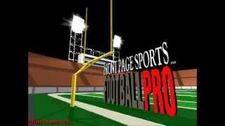 Front Page Sports Football Pro - Early Loop Demo