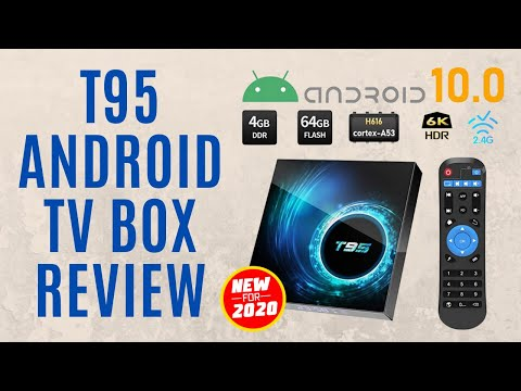 NEW 2020 T95 ANDROID 10.0 TV BOX QUAD-CORE STEAMING REVIEW