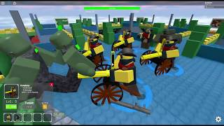 how far can I go with only cowboy (Roblox tds)