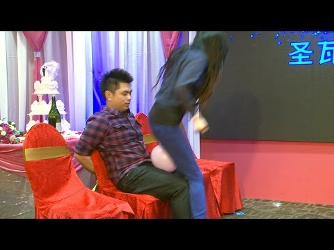 Funny Game @ A Chinese Wedding Video Scarborough Toronto Videographer Videography Photographer