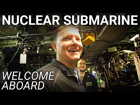 Boarding a US NAVY NUCLEAR SUBMARINE in the Arctic  Smarter Every Day 240