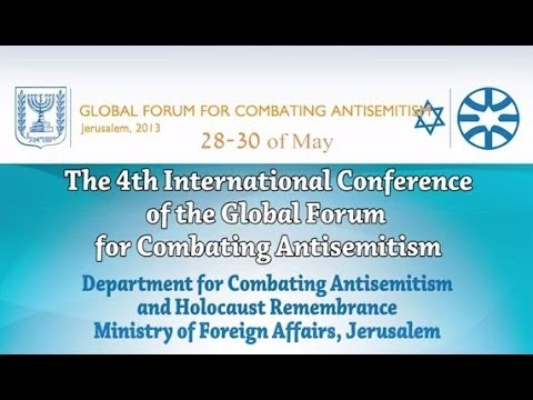 4th International Conference of the Global Forum for Combating Antisemitism