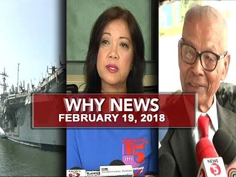 UNTV: Why News (February 19, 2018)