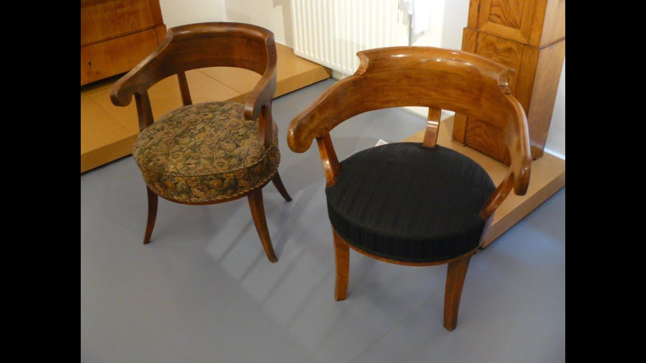antiquit ten biedermeier armlehnstuhl sch tzen. Black Bedroom Furniture Sets. Home Design Ideas