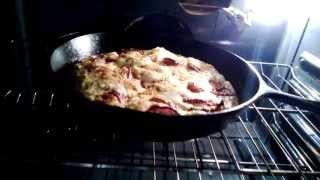 Bacon And Goat Cheese Frittata By Vmcampos