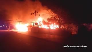 "В селе Межводное сгорело кафе ""Арарат"""