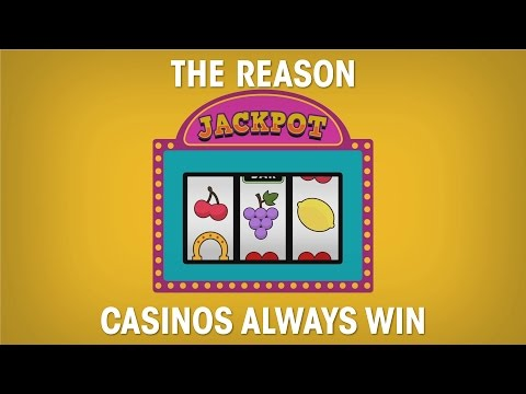 The reason casinos always win: meet the law of large numbers