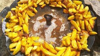 """Вкусная жареная картошка на """"ЧАРІ"""""""