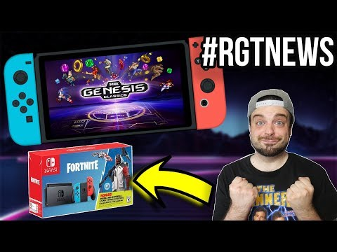 Sega Genesis Comes to SWITCH - ANOTHER Switch Bundle?! | #RGTNEWS
