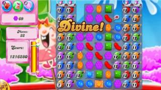 Candy Crush Saga Level 374 - 3 Stars - No Boosters Used