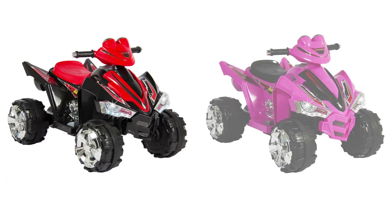 12v Led Quad Sky2071 Sky2580 Kids Ride On Atv Quad 4 Wheel 12v Power Led Lights And Music