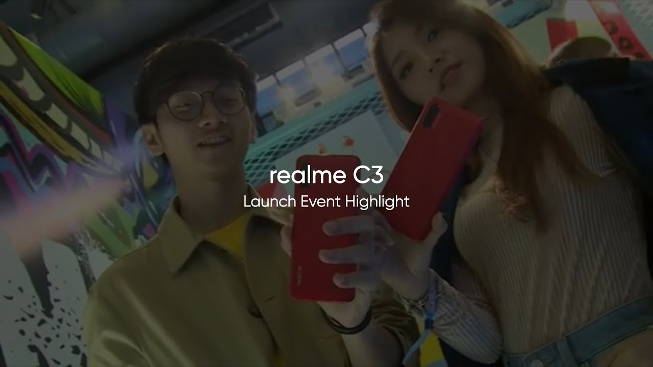 realme C3 | Launch Event Highlight