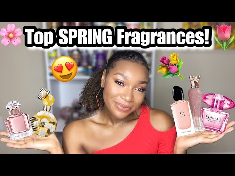 Top SPRING Fragrances From My Perfume Collection!