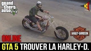 GTA 5 // Trouver la HARLEY-DAVIDSON (LCC Hexer) - Localisation Moto - Grand Theft Auto | FPS Belgium