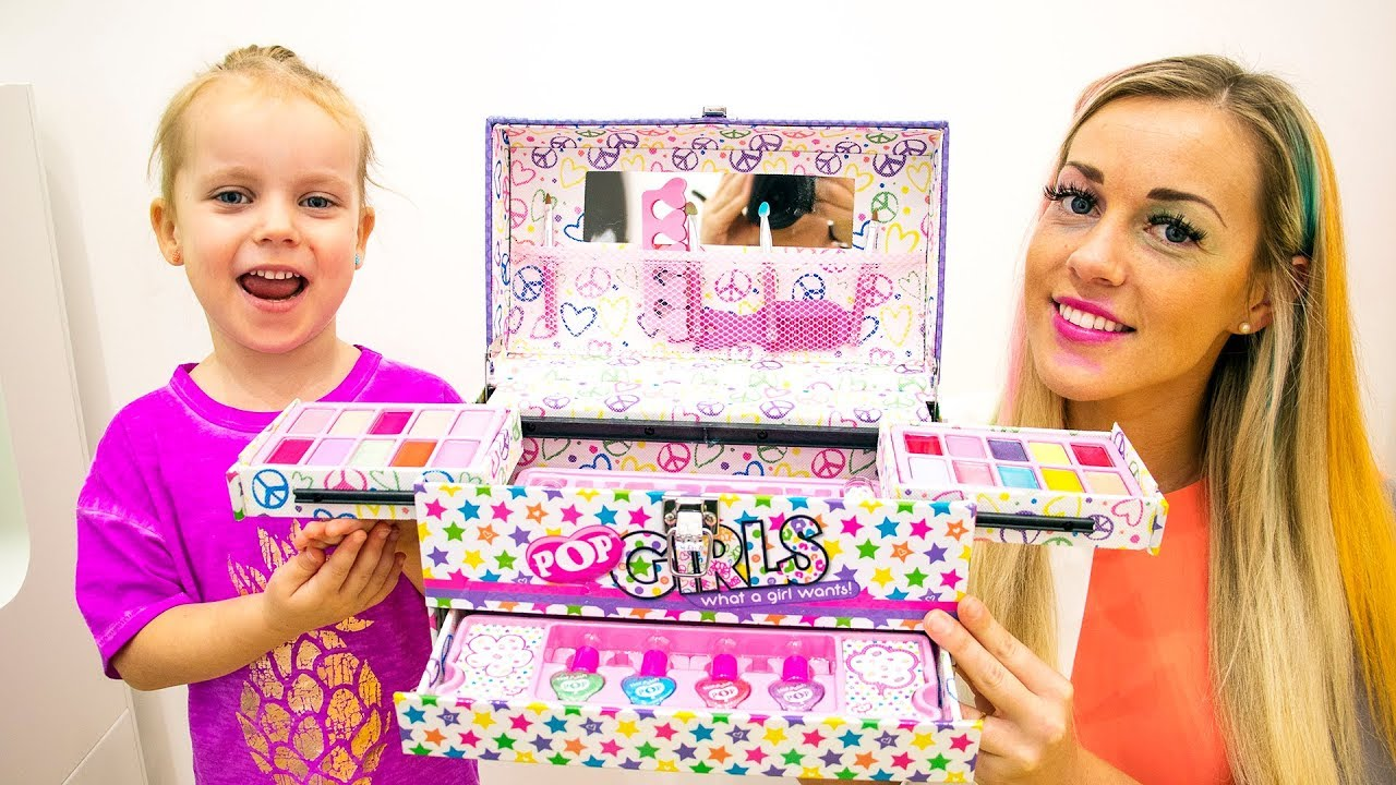 Youtuber Anak Toys And Little Gabby A8458