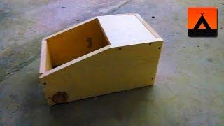Build a Rabbit Nesting Box Using a Single Plank