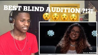 "The Voice Blind Auditon -Brooke Simpson ""Stone Cold"" REACTION"