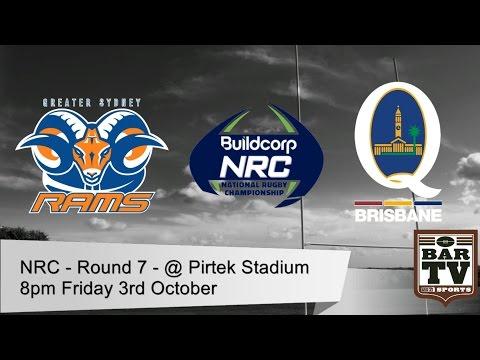 NRC 2014 - Round 7 - Greater Sydney Rams v Brisbane City