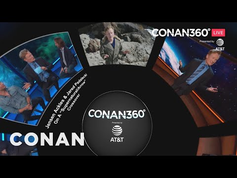 CONAN360° Screening Room: Conan Returns To San Diego