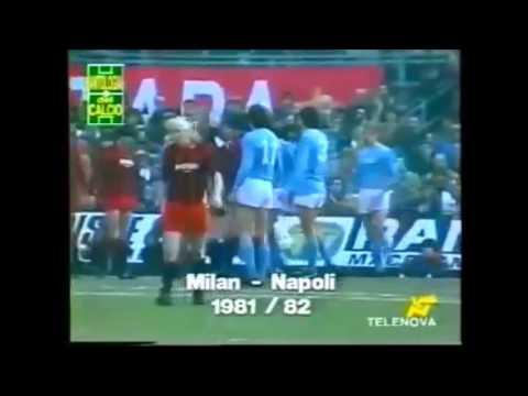 Furti ai danni del Milan: La seconda retrocessione nel 1981-82