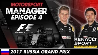 Motorsport Manager | Formula One Let's Play – Episode 4: 2017 RUSSIAN GRAND PRIX