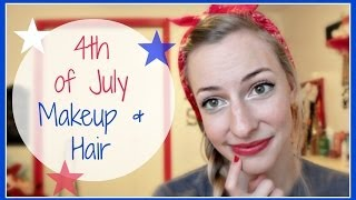 Fourth of July Makeup + Hair (Collab) Thumbnail