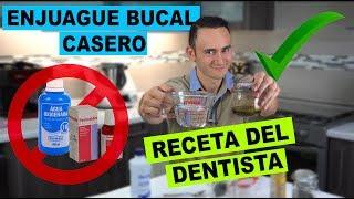 Enjuague Bucal Casero | Recomendado por Dentista | Olvida el Agua Oxigenada y la Clorhexidina