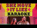 SHE MOVE IT LIKE KARAOKE(CLEAN KARAOKE)|| INSTRUMENTAL || BADSHAH || SONY MUSIC INDIA|CROSS PRODUCO|