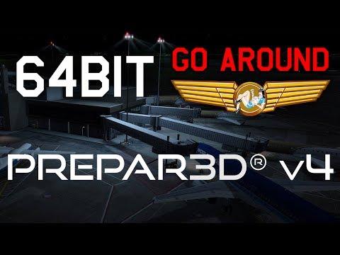 Lockheed Martin Prepar3d v4 | GO AROUND - Episode 21