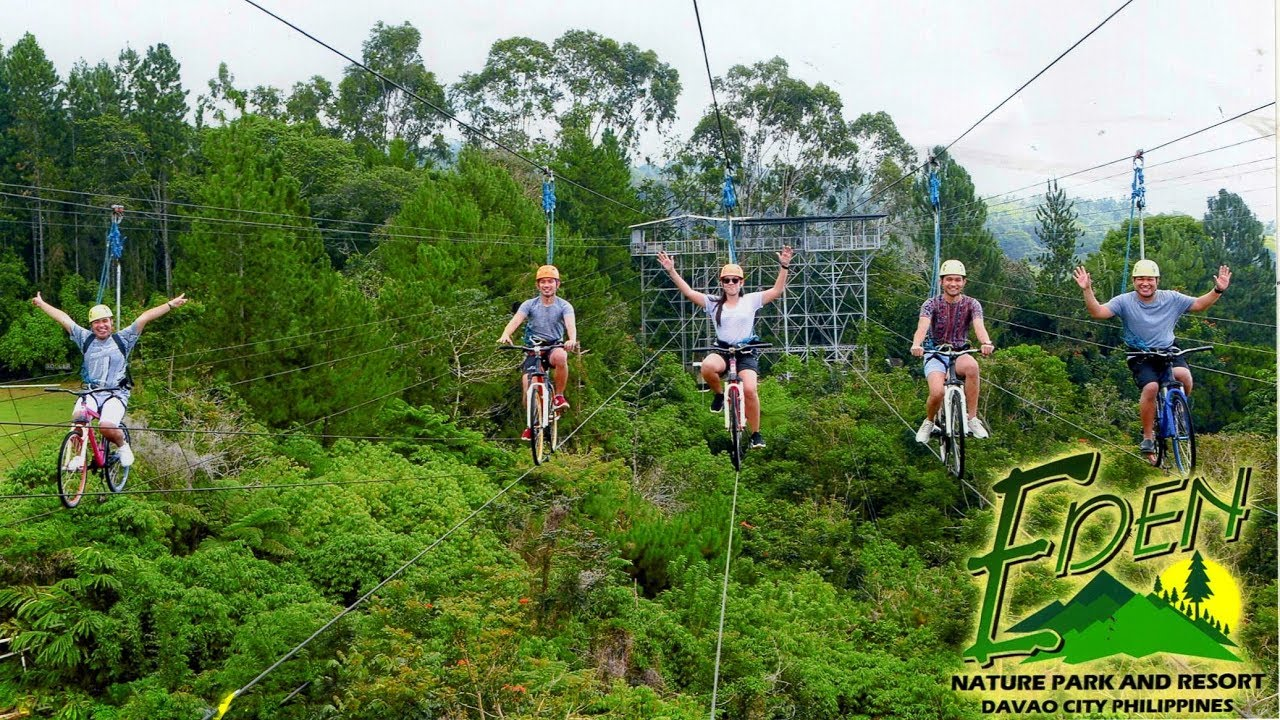 EDEN Nature Park and Resort I DARE TO EXPERIENCE SKY RIDES! - YouTube